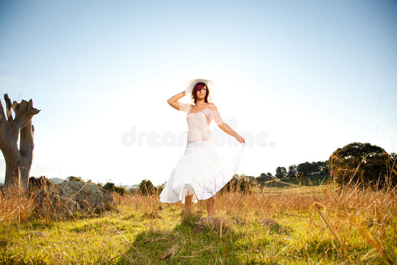 Download Dancing around stock photo. Image of grass, happiness - 24504350