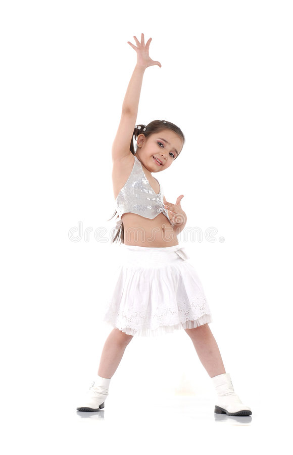 Free Dancing Baby Girl Royalty Free Stock Photos - 8602598