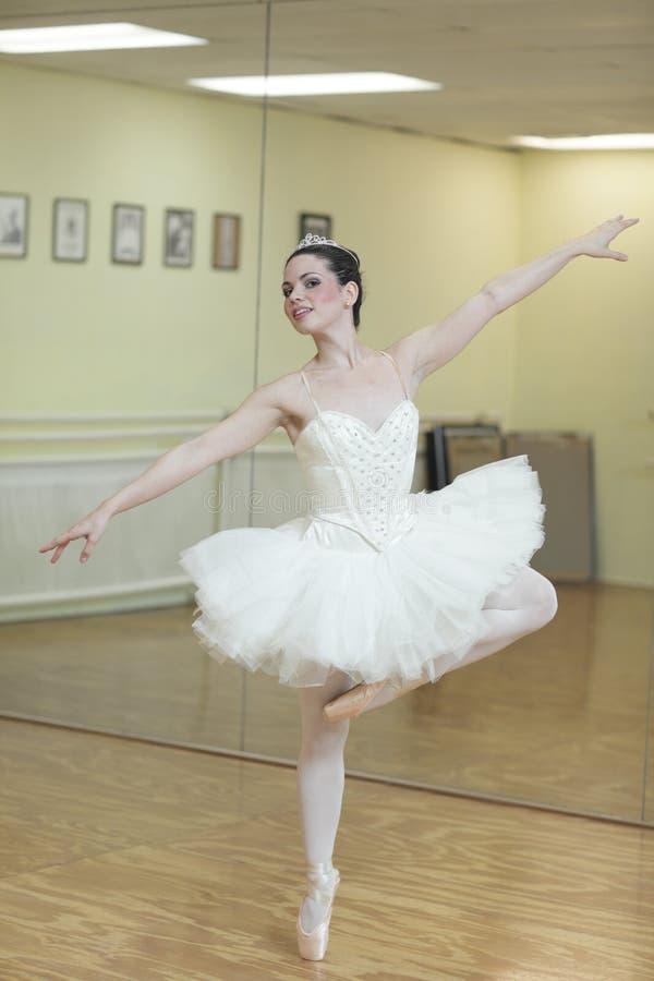 Dancing ballerina royalty free stock photos