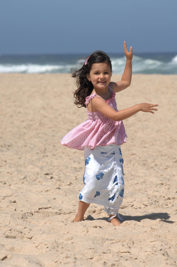Download Dancing On The Beach Royalty Free Stock Photo - Image: 10356555