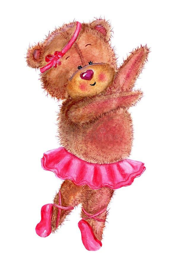 Dancing bear stock illustration