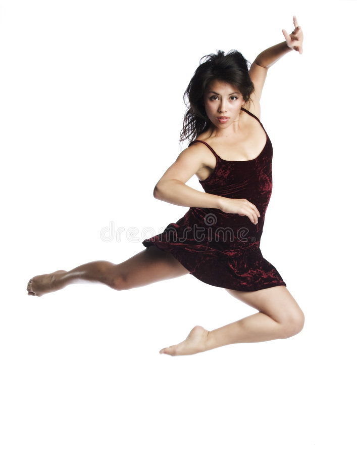 Dancing Beauty stock images