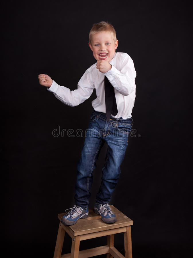 Download Dancing boy stock image. Image of strong, blond, caucasian - 19257345