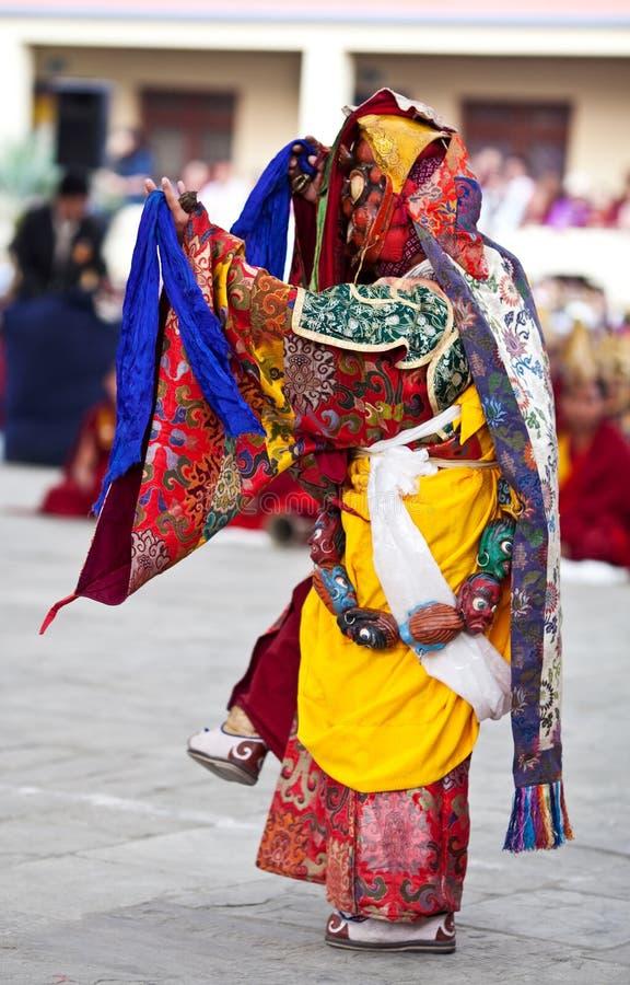 Download Dancing Buddhists Lama Editorial Stock Image - Image: 20058449