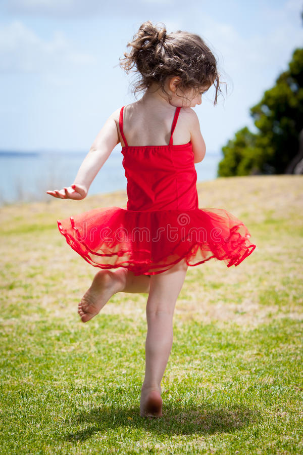 Dancing child royalty free stock photos