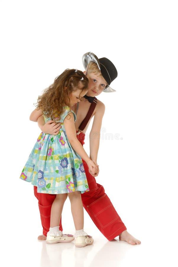 Download Dancing children stock photo. Image of action, girl, beautiful - 3829492