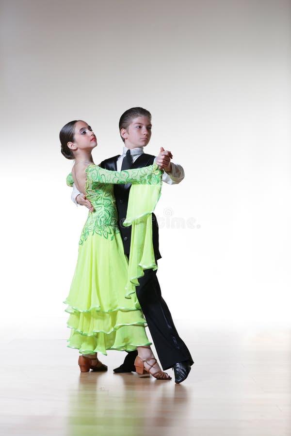 Dancing children royalty free stock photo