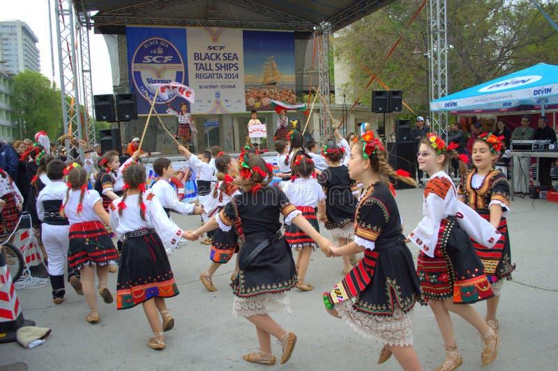 Download Dancing children editorial stock image. Image of dancing - 41462294