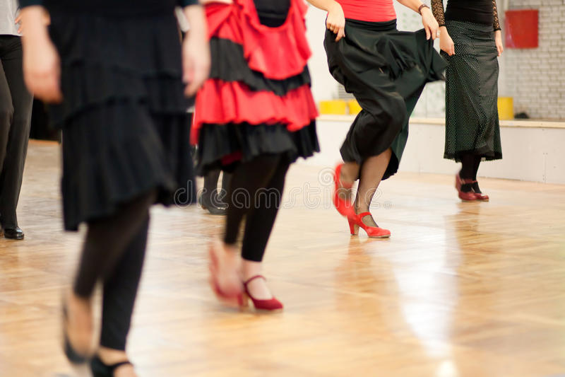 Dancing class stock images