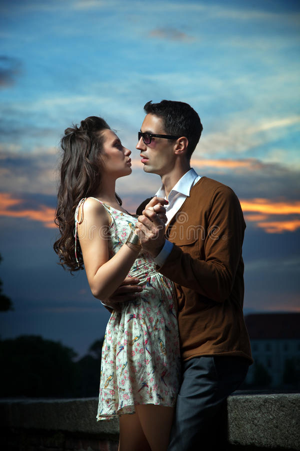 Download Dancing couple stock photo. Image of adult, embrace, beauty - 25438860