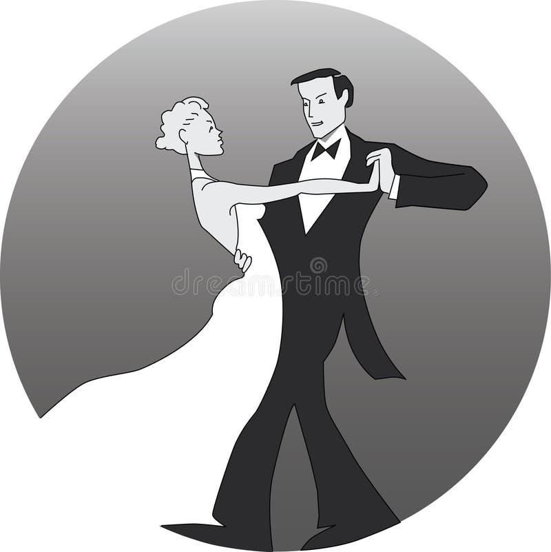 Download Dancing couple stock vector. Image of ballroom, couple - 282833