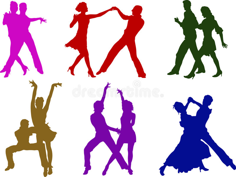 Dancing Couples Stock Image