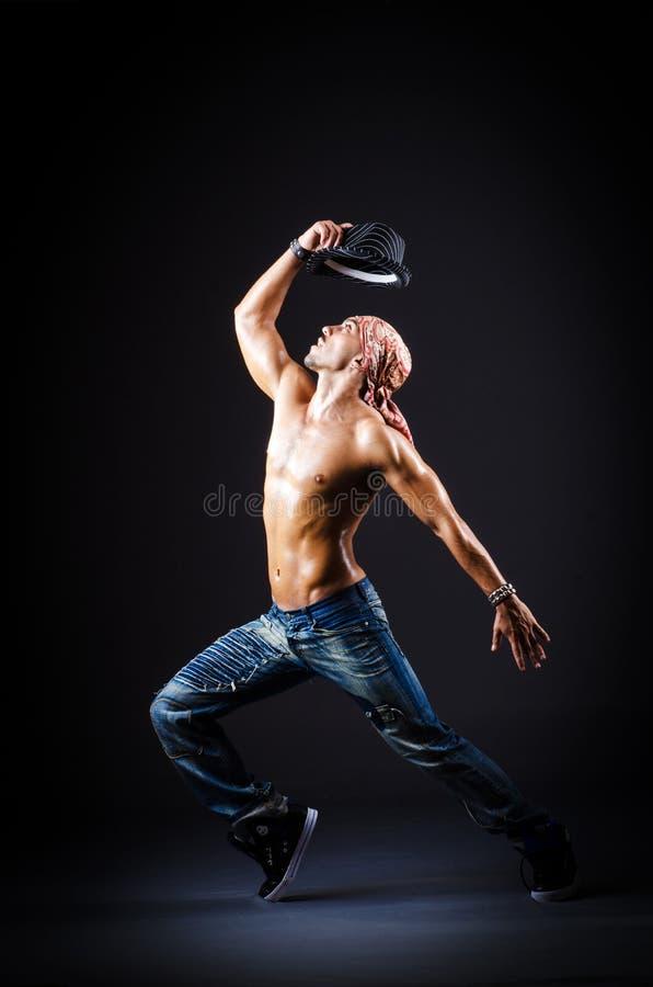 Dancing Del Ballerino Fotografia Stock