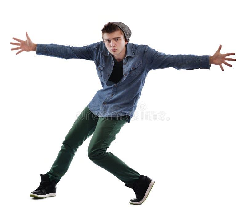 Dancing del giovane immagini stock