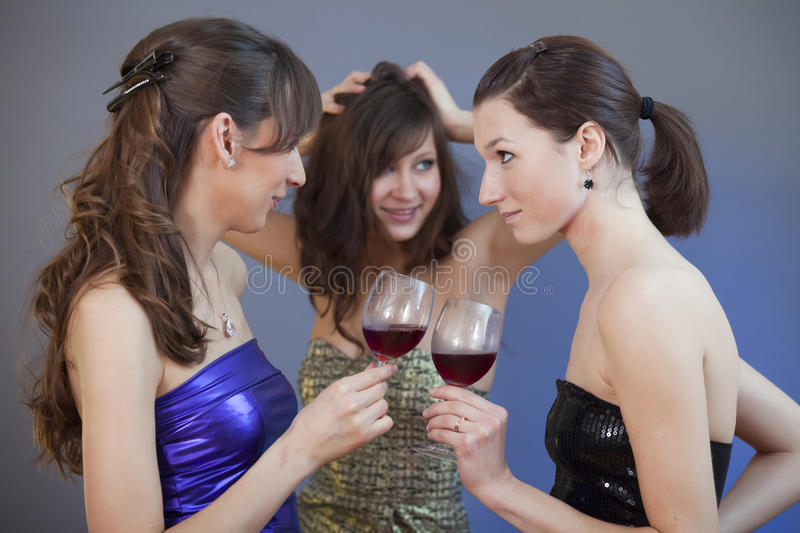 Download Dancing And Drinking At Disco Stock Photo - Image: 12954618
