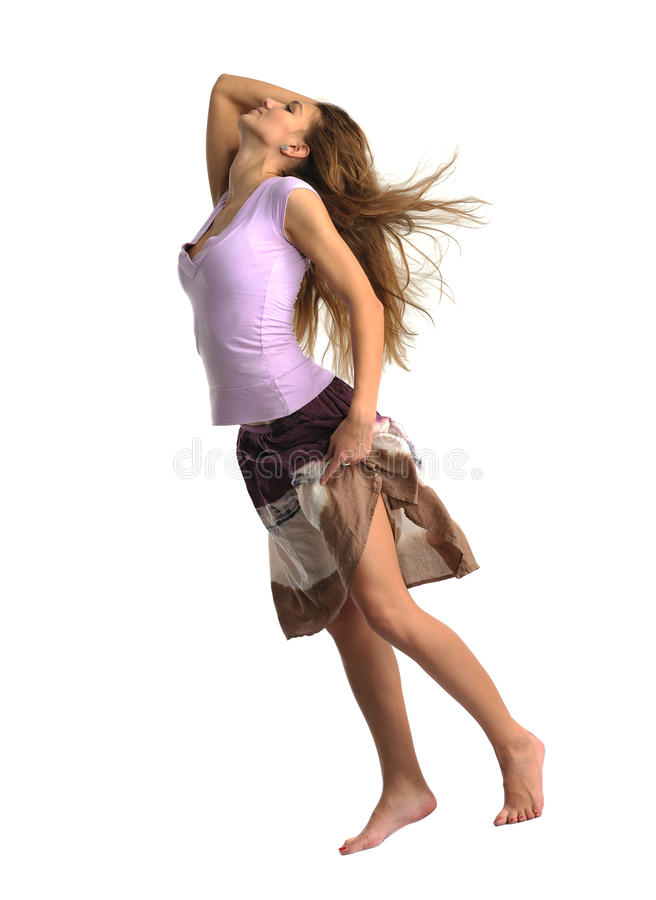 Download Dancing  Emotion Girl Stock Photography - Image: 17303542