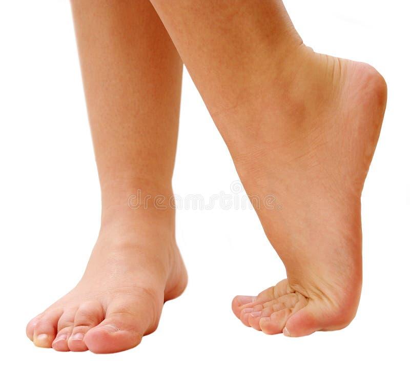 Dancing feet stock photography