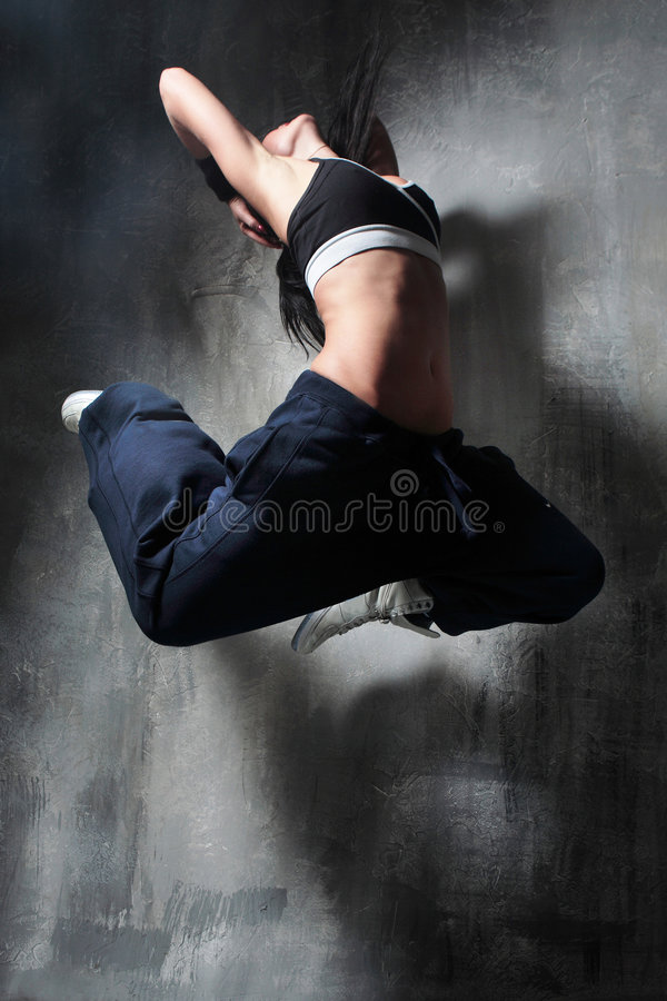 Download Dancing girl stock image. Image of fitness, dancing, freestyle - 4028747