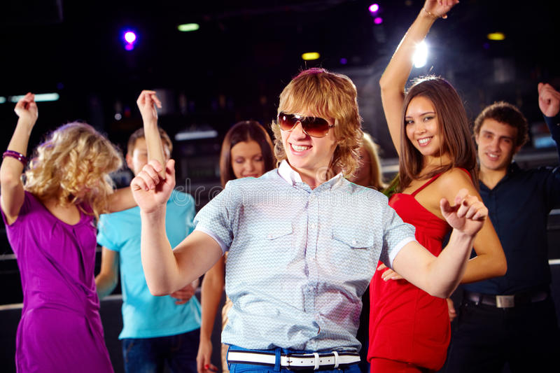Download Dancing Guy Royalty Free Stock Photography - Image: 14377317