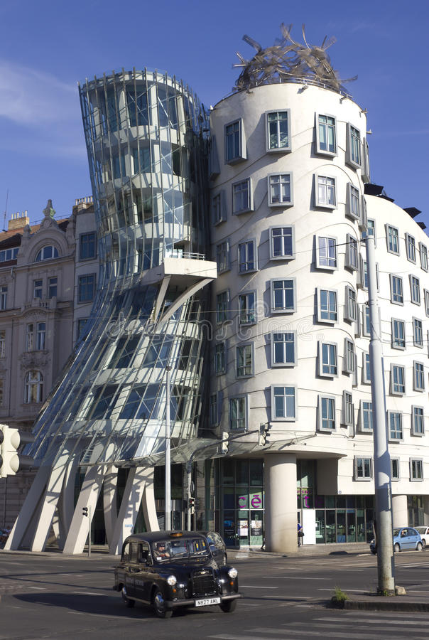 Download Dancing house editorial stock photo. Image of gehry, steel - 20405713