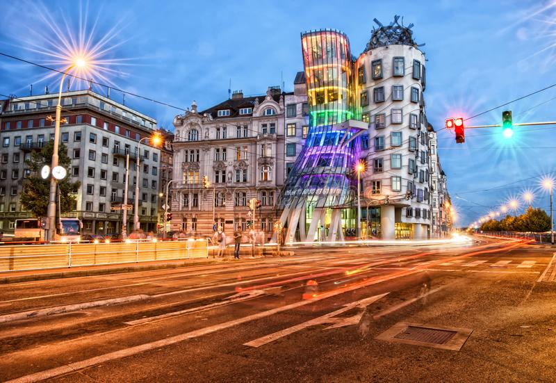 Dancing House Colors stock photography