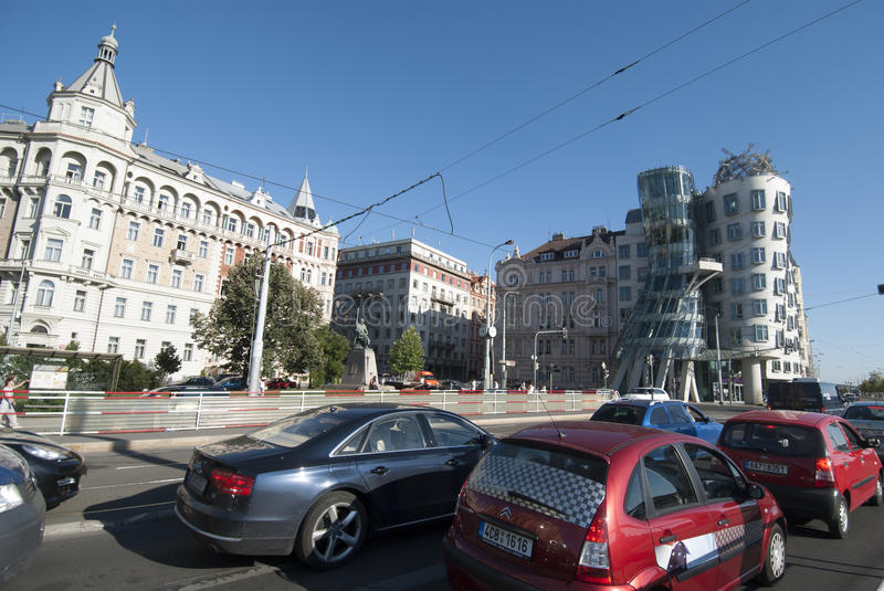 Download Dancing House, Prague, Czech Republic Editorial Stock Photo - Image: 26825228