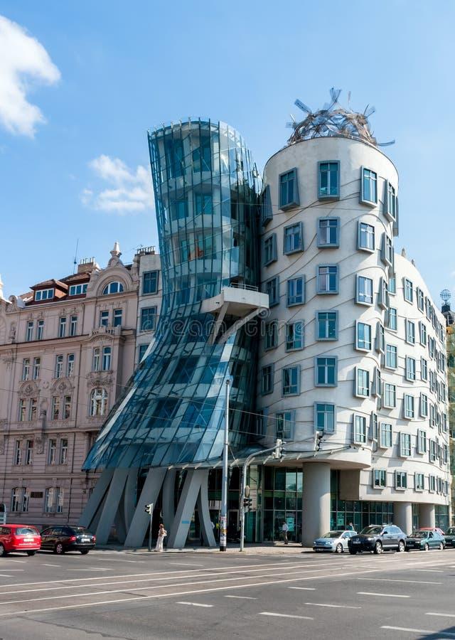 Dancing House in Prague - Czech Republic photo stock
