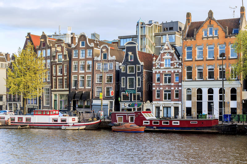 Download Dancing Houses Of Amsterdam Editorial Photo   Image Of Embankment,  Water: 65427631