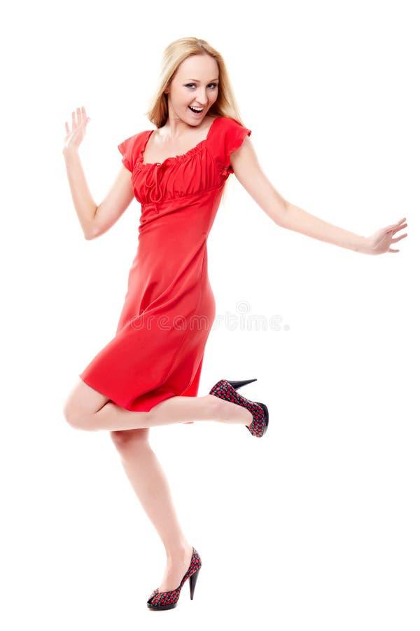 Download Dancing lady stock image. Image of caucasian, balance - 14392373