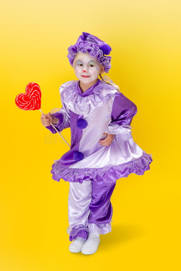 Download Valentine dancing clown stock photo. Image of comedy - 30149998