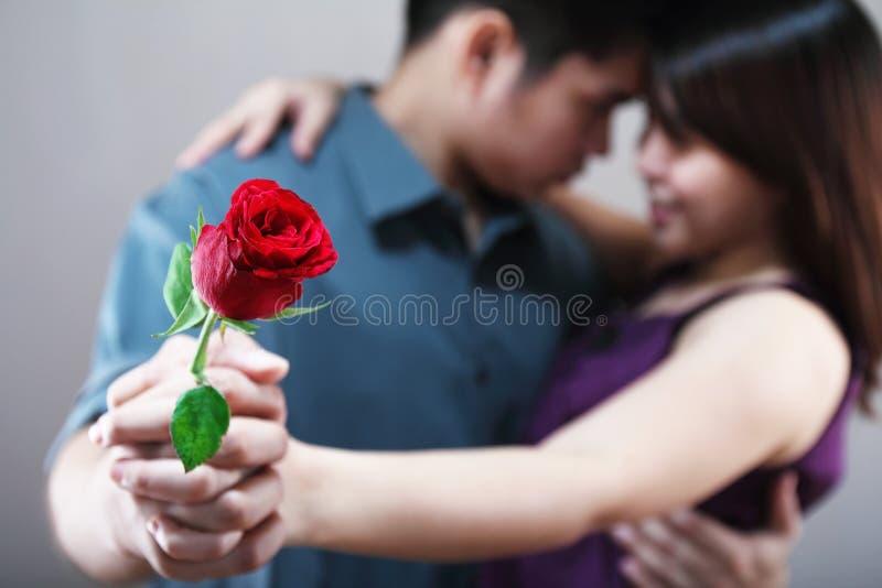 Dancing Lovers royalty free stock image
