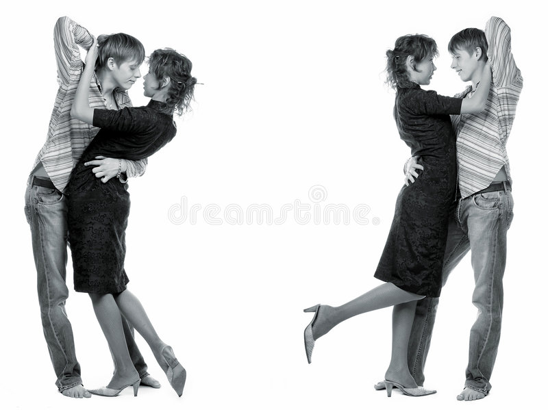 Download Dancing loving couple. stock image. Image of happiness - 436955