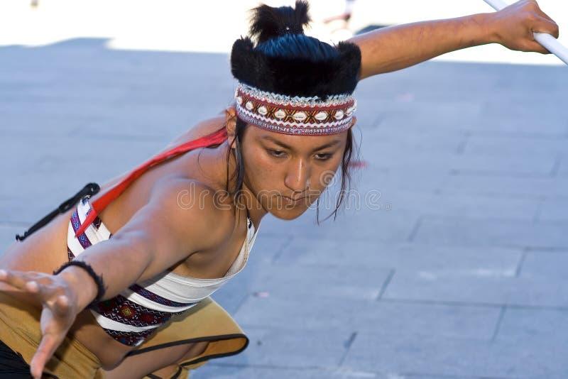 Dancing Man stock photography