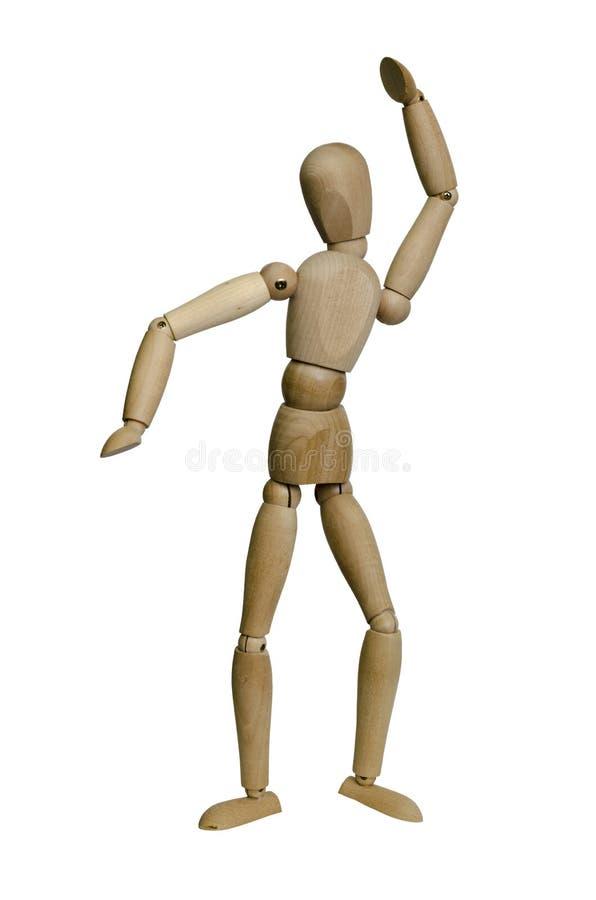 Dancing man stock photos