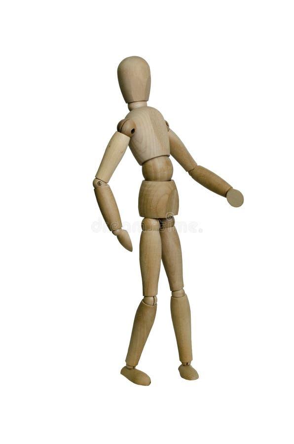 Dancing man stock image