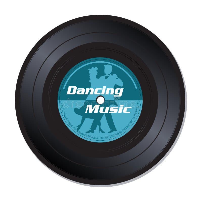 Dancing music vinyl record stock photos