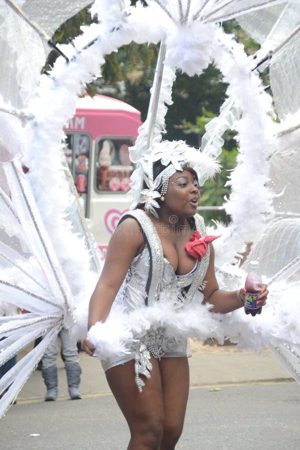 Dancing At Notting Hill Carnival Editorial Stock Image