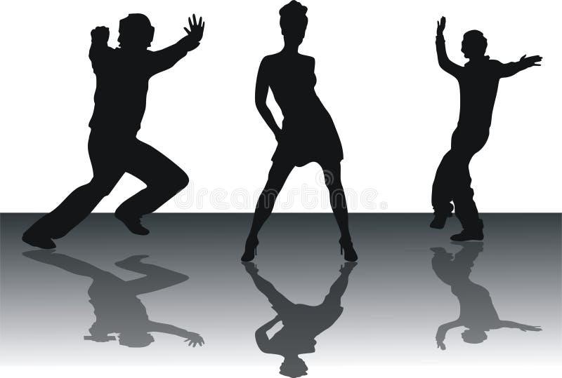 Download Dancing people stock illustration. Image of illustration - 4804911