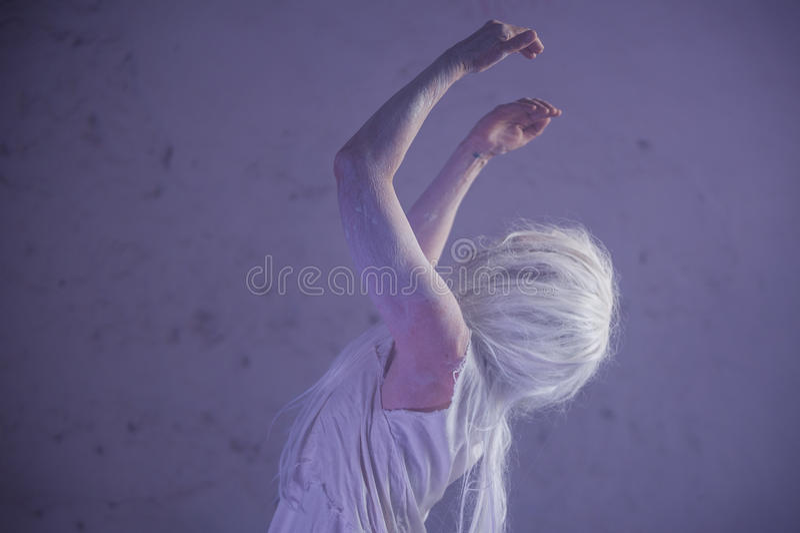 Dancing in the ruin stock photos