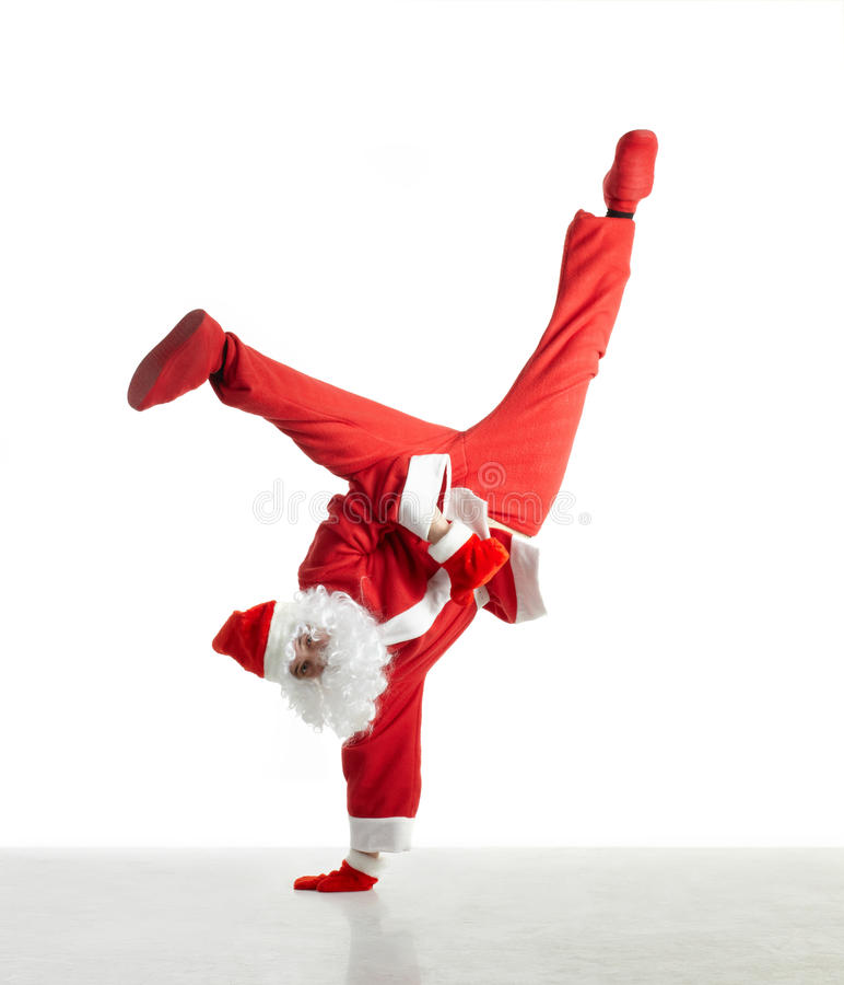 Free Dancing Santa Royalty Free Stock Image - 16438156