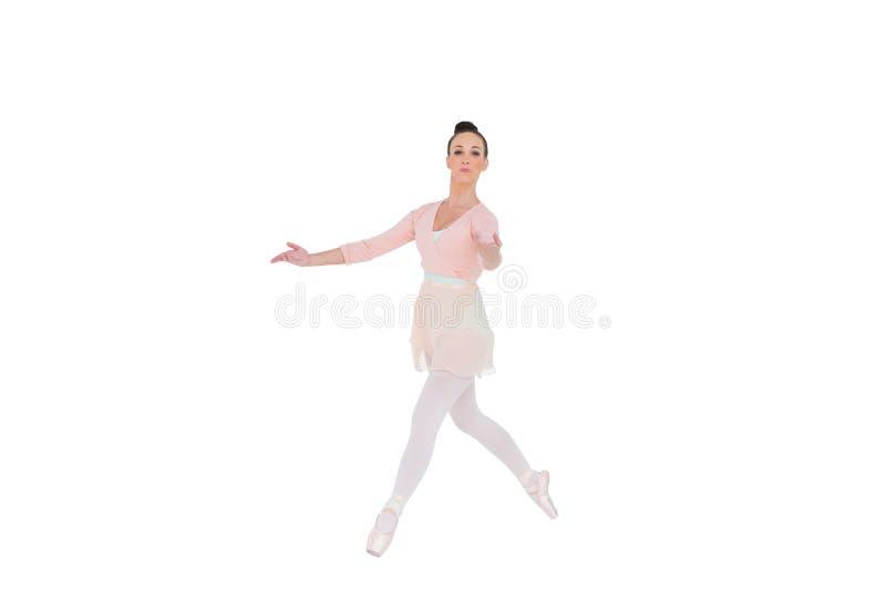 Dancing serio della ballerina fotografia stock