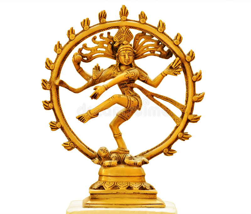 Download Dancing Shiva stock photo. Image of hinduism, brass, goddess - 6904960