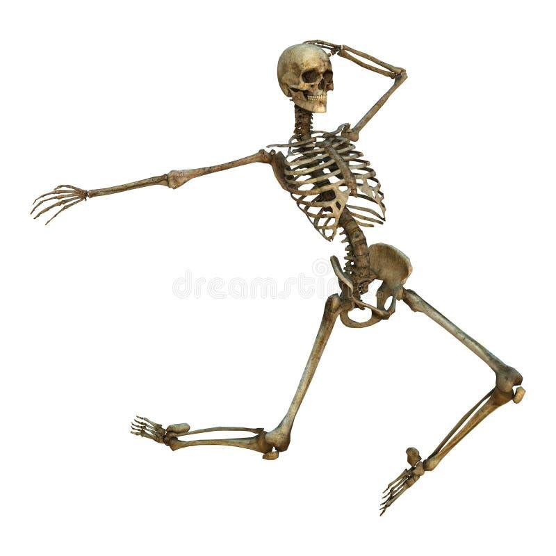 Dancing Skeleton vector illustration