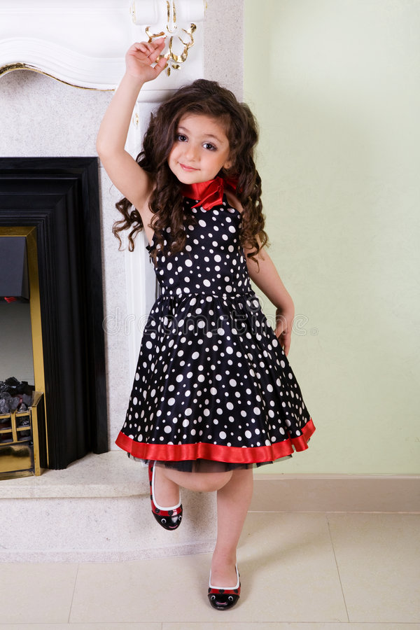Free Dancing Small Model Stock Images - 5456394