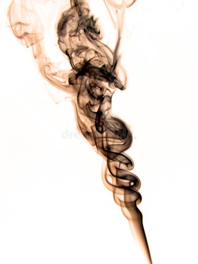 Dancing smoke stock images