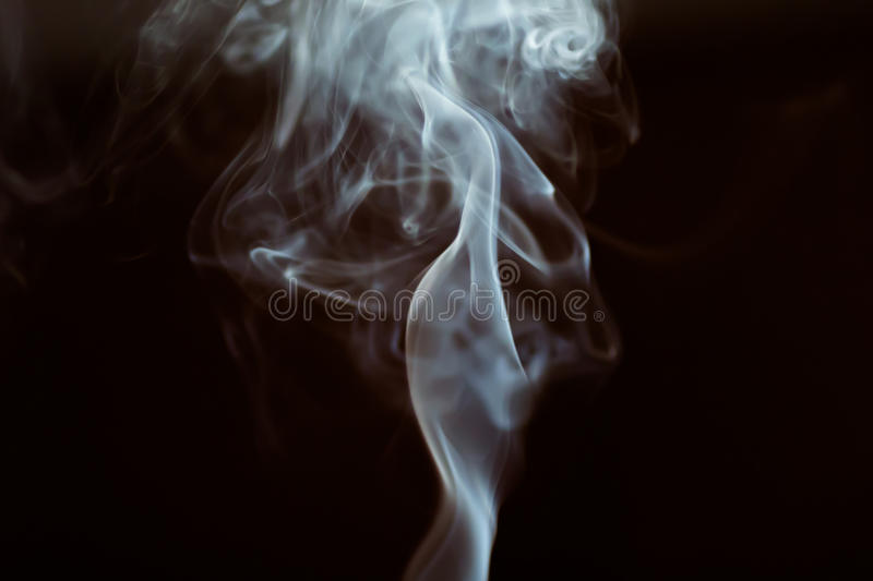 Dancing smoke stock images