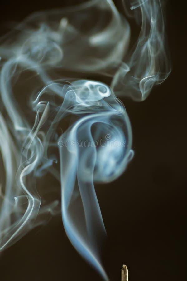 Dancing smoke stock photos