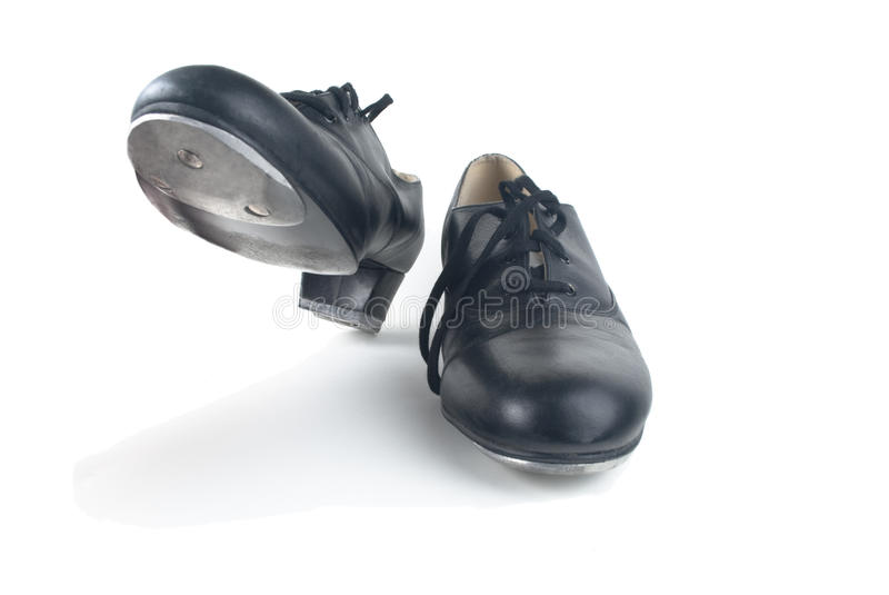Dancing Tap Shoes stock images