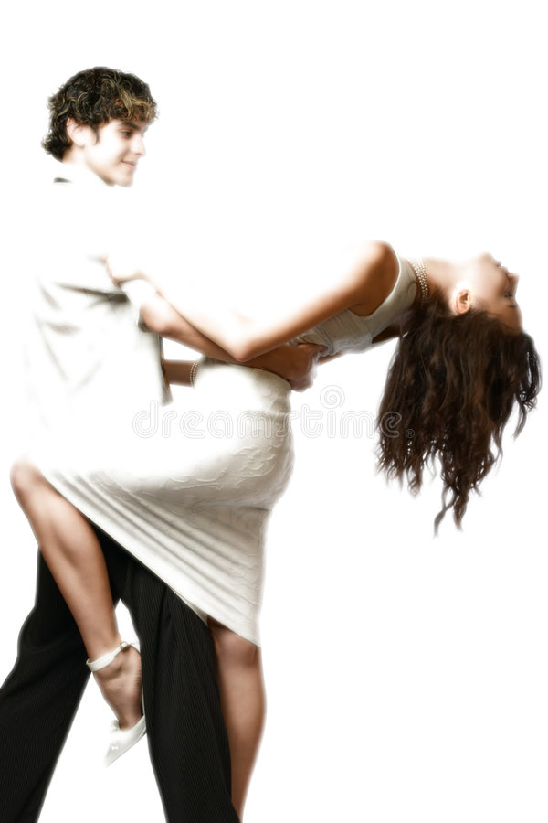 Download Dancing Teen Couple, Happy And Funny Stock Photo - Image: 370712