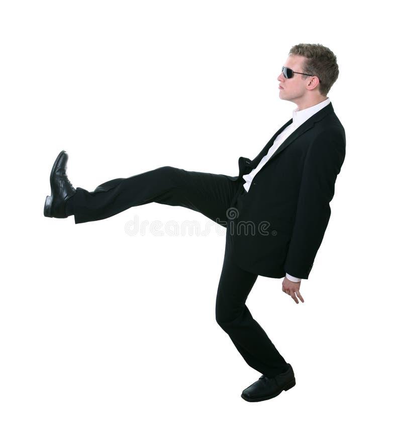 Dancing teenager freddo immagine stock libera da diritti
